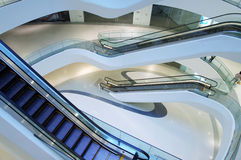 Interior del edificio moderno Imágenes de archivo libres de regalías