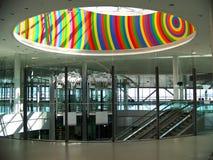 Interior del edificio moderno Imagen de archivo libre de regalías