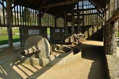 Interior del edificio tradicional Fotografía de archivo