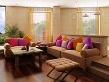 Interior del estilo de Marruecos