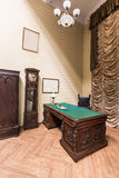 Interior del gabinete Fotografía de archivo