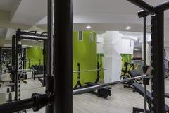 Interior del gimnasio Imagen de archivo libre de regalías