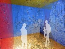 Interior del hielo libre illustration