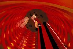 Interior del hotel Fotografía de archivo libre de regalías