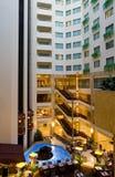 Interior del hotel imagen de archivo