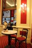 Interior del hotel famoso de Sacher Imágenes de archivo libres de regalías