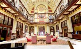 Interior del hotel magnífico de la prima 108 de la estación de la unión, Nashville Tennessee Fotografía de archivo libre de regalías