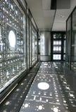 Interior del instituto del mundo árabe en París imágenes de archivo libres de regalías