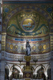 Interior del la Garde de Notre Dame de Fotografía de archivo