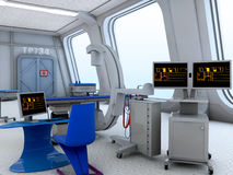 Interior del laboratorio médico Fotos de archivo