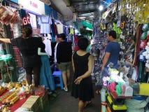 Interior del mercado central, Phnom Penh - capital de Camboya Fotos de archivo
