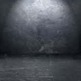 Interior del metal del Grunge ilustración del vector