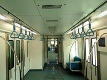 Interior del metro Imagen de archivo