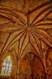 Interior del monasterio de Batalha en Portugal Imagen de archivo