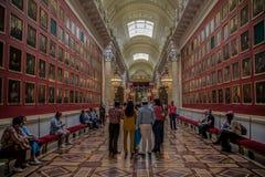 Interior del museo de ermita del estado Imagenes de archivo