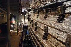 Interior del museo de los vasos en Estocolmo, Suecia Foto de archivo libre de regalías