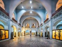 Interior del museo de Peshawar Fotos de archivo