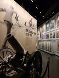 Interior del museo Kansas Missouri de la Primera Guerra Mundial foto de archivo