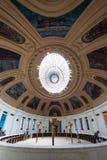 Interior del Museo Nacional del indio americano en NYC Imagen de archivo