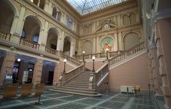 Interior del museo postal y telegráfico de Europa Central, tri Fotos de archivo libres de regalías