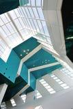 Interior del nuevo centro Singapur de la travesía de la bahía del puerto deportivo Fotografía de archivo