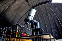 Interior del observatorio con Large Telescope fotos de archivo libres de regalías