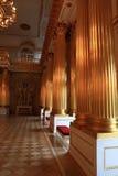 Interior del palacio Fotografía de archivo