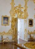 Interior del palacio de Catherine Imagenes de archivo
