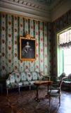 Interior del palacio de Kuskovo Foto de archivo libre de regalías
