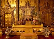 Interior del palacio de Pasillo Fotos de archivo