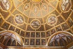 Interior del palacio de Pena en Sintra Fotografía de archivo
