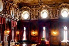 Interior del palacio de Poznanski Imagen de archivo libre de regalías