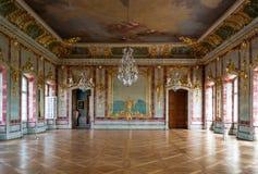 Interior del palacio de Rndale imágenes de archivo libres de regalías