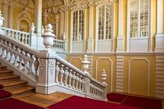 Interior del palacio de Rundale Fotografía de archivo libre de regalías
