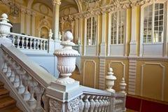 Interior del palacio de Rundale Imagenes de archivo