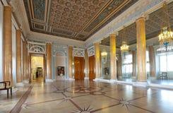 Interior del palacio de Stroganov Foto de archivo