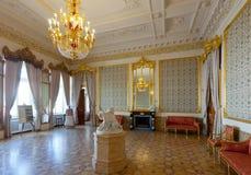 Interior del palacio de Stroganov Fotografía de archivo libre de regalías