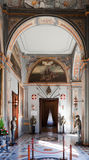 Interior del palacio del caballero Imagen de archivo libre de regalías