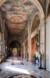 Interior del palacio del caballero Fotos de archivo libres de regalías