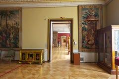 Interior del palacio del invierno Fotografía de archivo