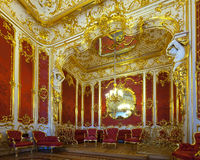Interior del palacio del invierno. St Petersburg fotografía de archivo libre de regalías