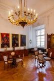 Interior del palacio en Salzburg Austria Fotografía de archivo