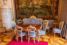 Interior del palacio en Salzburg Austria Fotos de archivo libres de regalías
