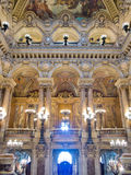 Interior del Palais Garnier Imagen de archivo