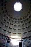 Interior del panteón en Roma fotografía de archivo