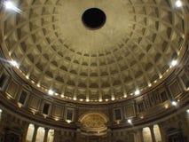 Interior del panteón, Roma Foto de archivo libre de regalías