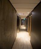 Interior del pasillo del hotel imagen de archivo libre de regalías