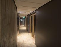 Interior del pasillo del hotel imágenes de archivo libres de regalías