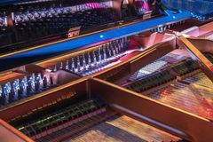 Interior del piano magnífico fotos de archivo libres de regalías