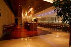 Interior del restaurante Foto de archivo